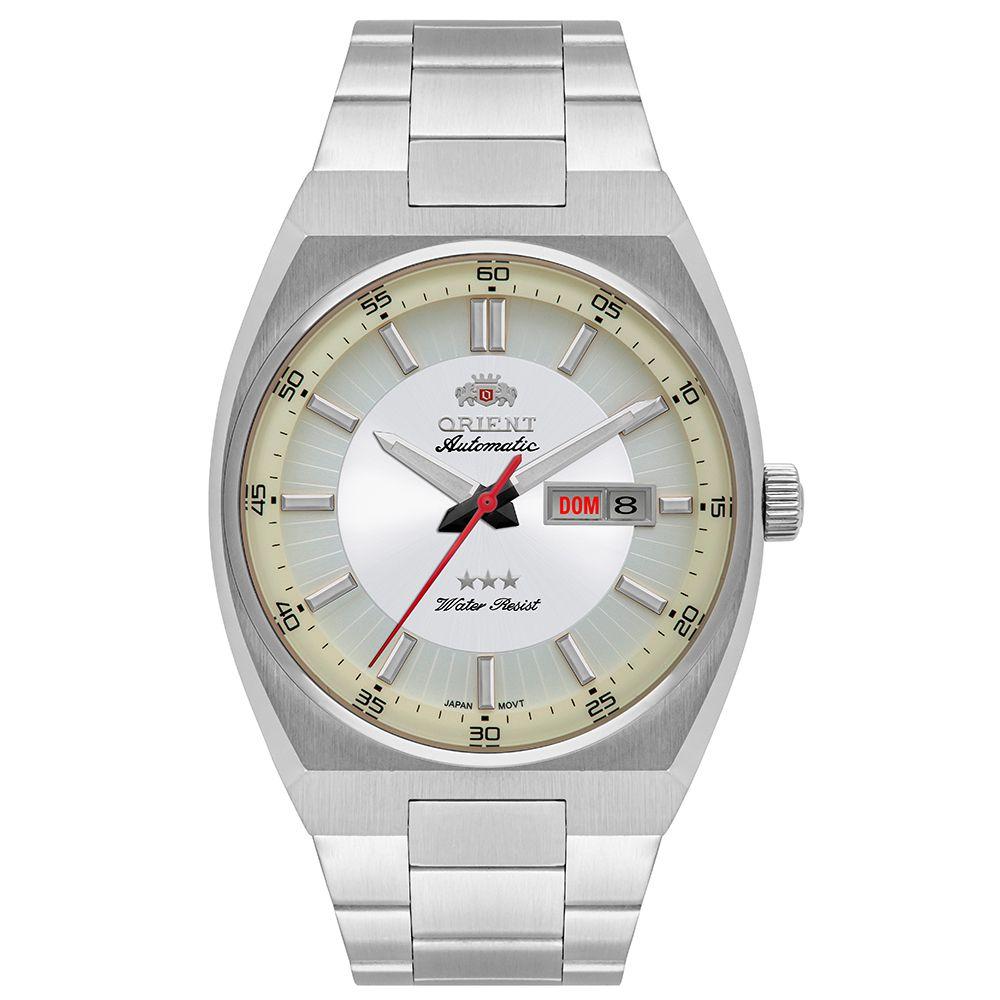 Relógio Masculino Orient Automatic Prata 469SS087-S1SX