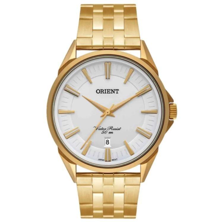Relógio Masculino Orient Eternal Dourado MGSS1190 S1KX