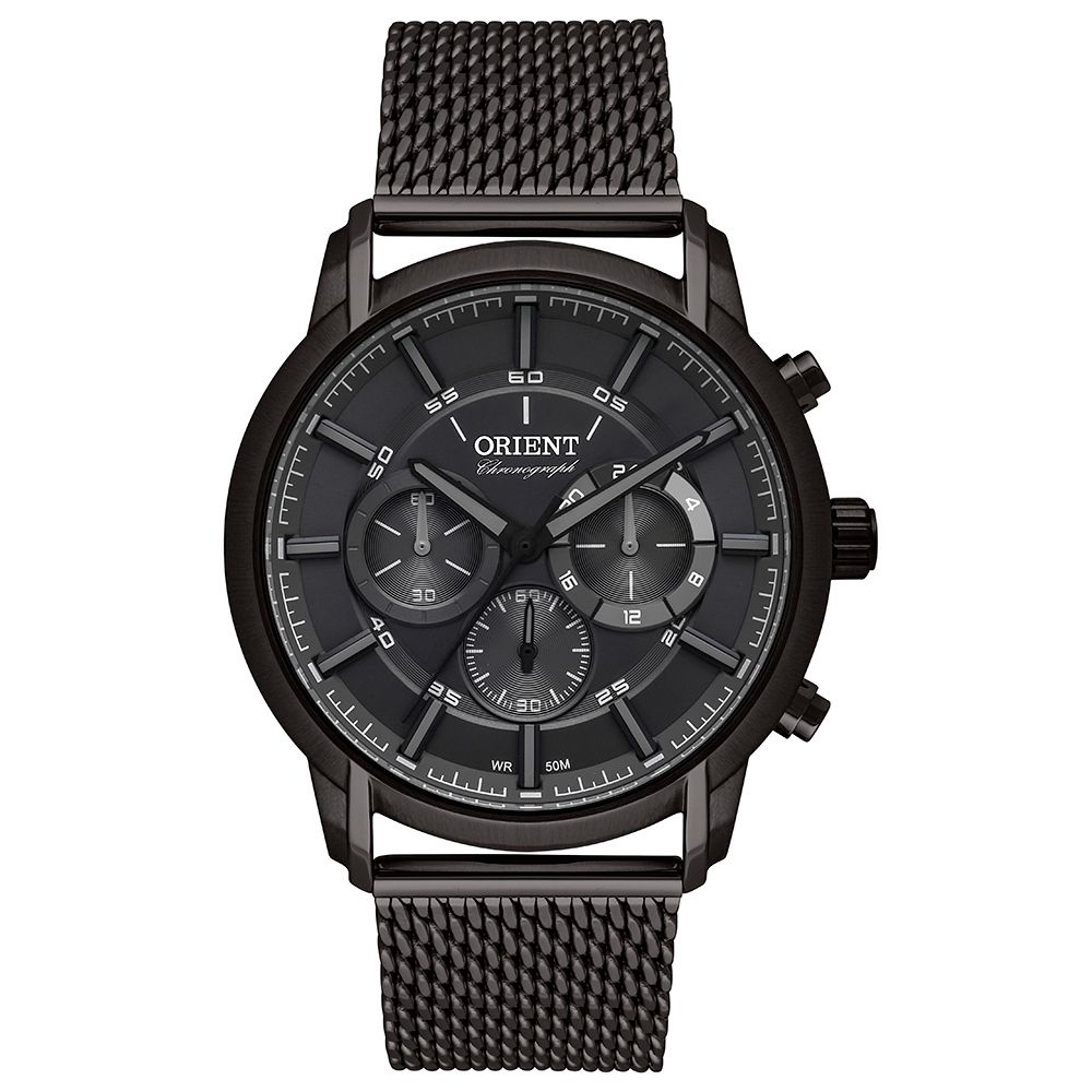 Relógio Masculino Orient Neo Sports Cronograph Preto MYSSC009-G1GX