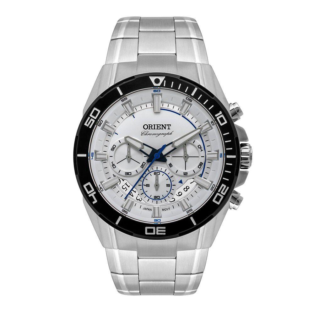 Relógio Masculino Orient Sport Chronograph MBSSC209-S1SX