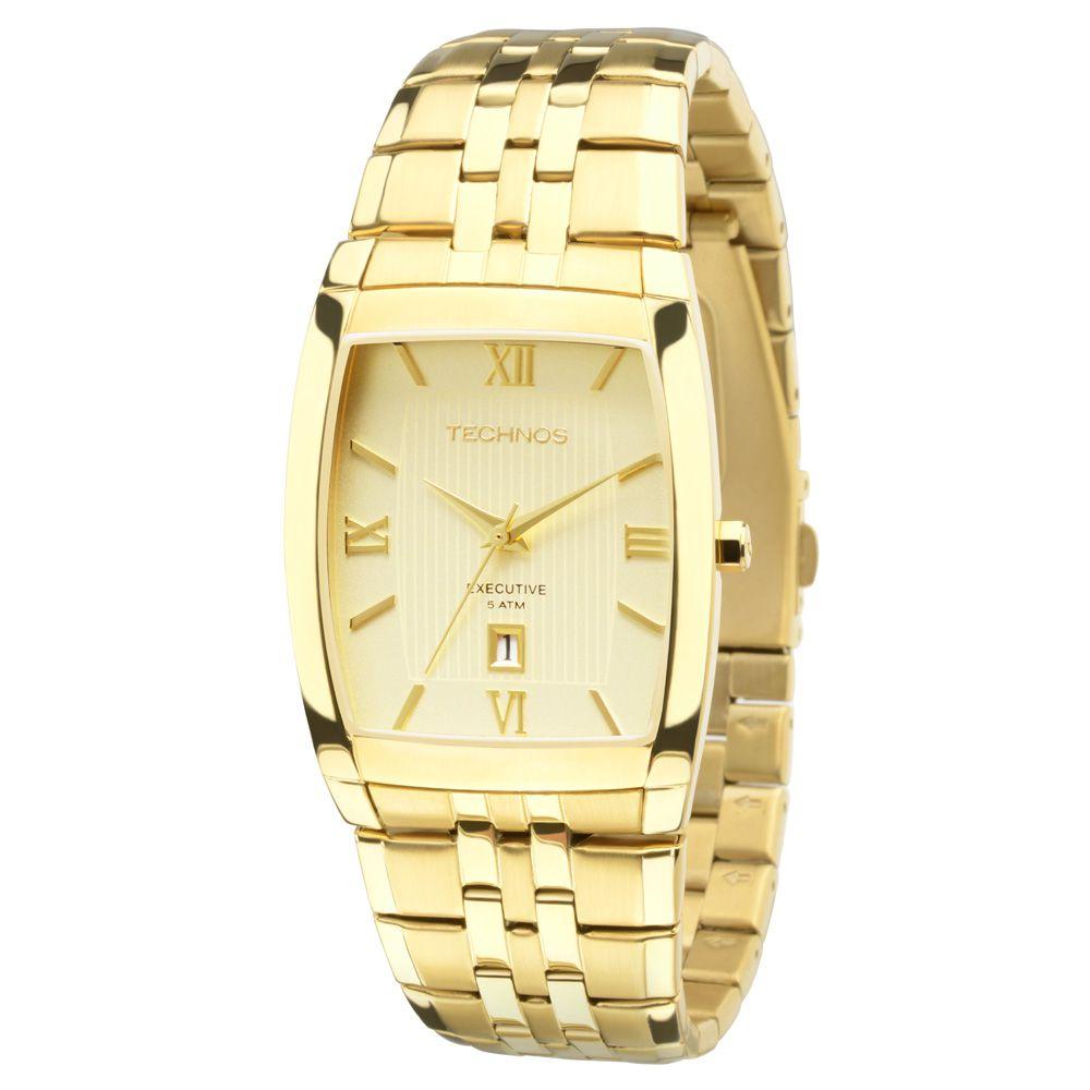 Relógio Masculino Technos Classic Executive 1N12MP/4X