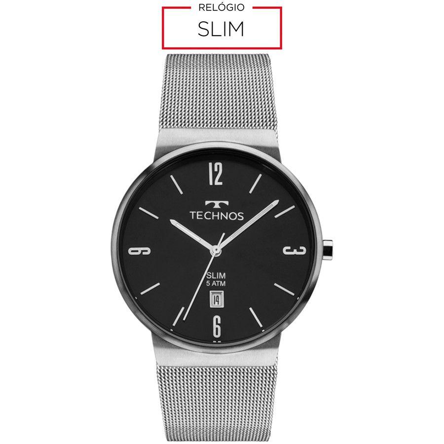 Relógio Masculino Technos Classic Slim GM10YI/1P