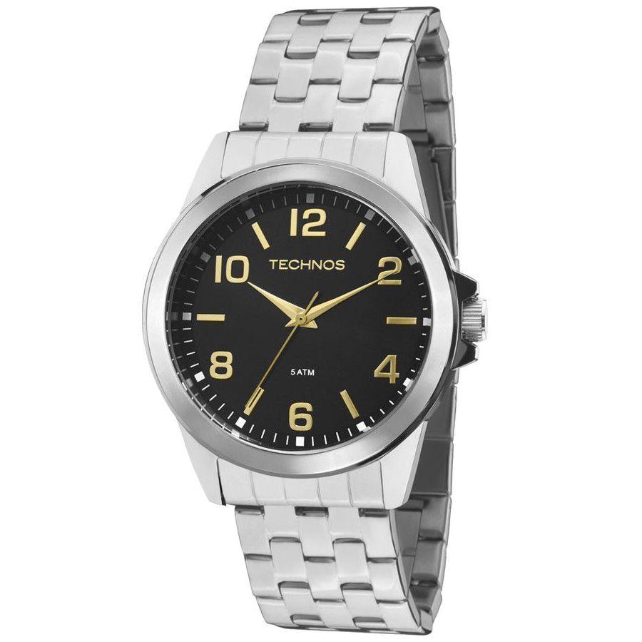 Relógio Masculino Technos Classic Steel 2035MDH/1C