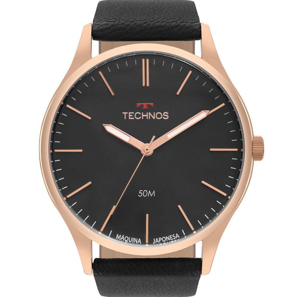 Relógio Masculino Technos Classic Steel 2035MQG/2P