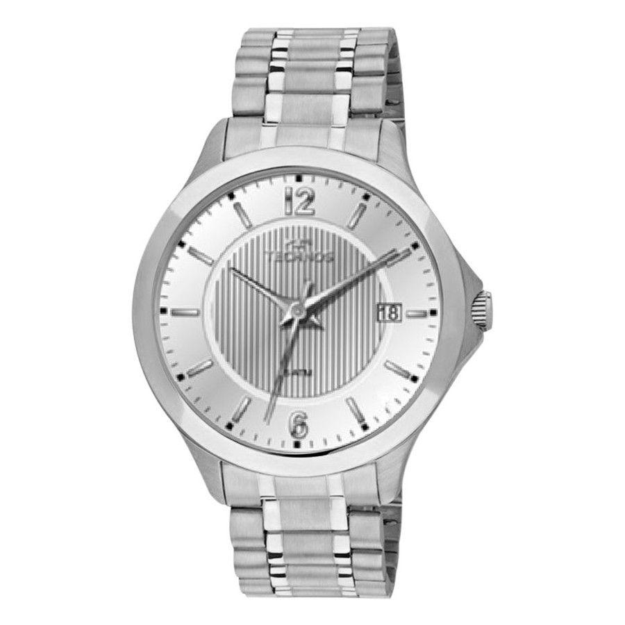 Relógio Masculino Technos Classic Steel Prata 1S13CA/1K