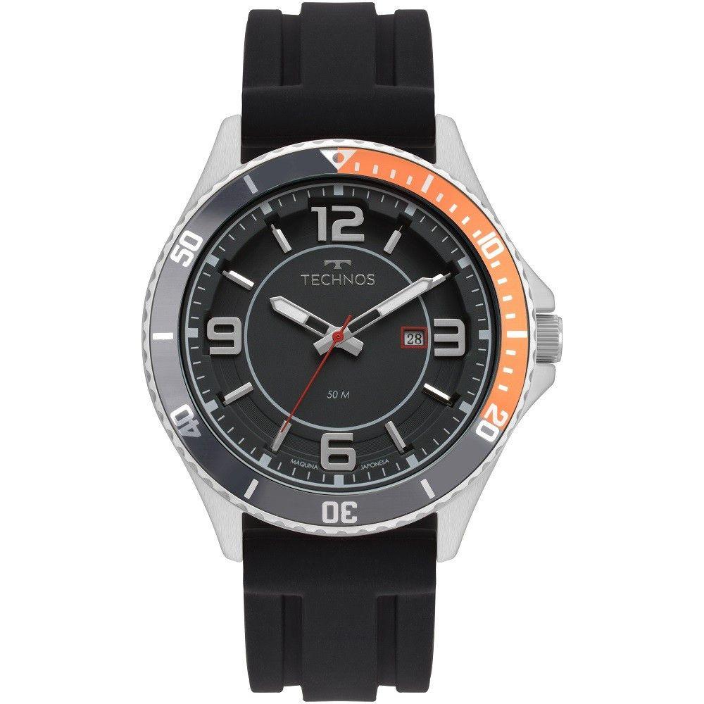 Relógio Masculino Technos Performance Racer Prata 2115MSJ/8P