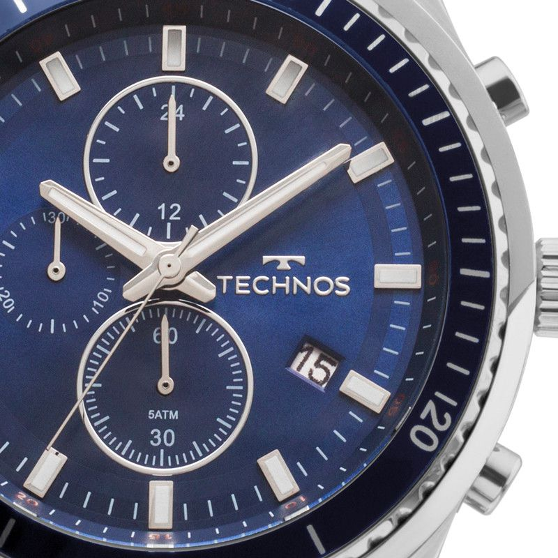 Relógio Masculino Technos Performance Skymaster JS15FF/1A