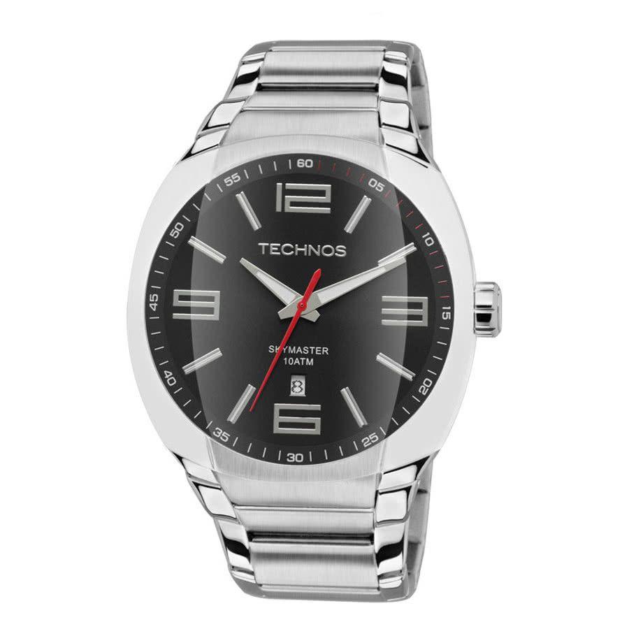 Relógio Masculino Technos Skymaster Prata 2115GS/1P