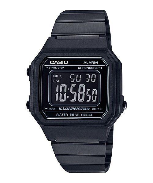 Relógio Unissex Casio Standard Preto B650WB-1BDF