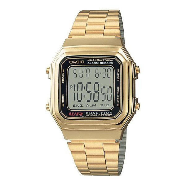 Relógio Unissex Casio Vintage A178WGA-1ADF