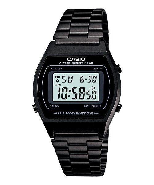 Relógio Unissex Casio Vintage Preto B640WB-1ADF