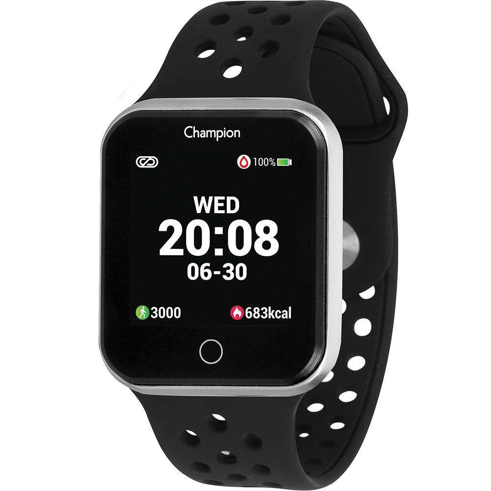 Relógio Unissex Champion Smartwatch Prata CH50006T