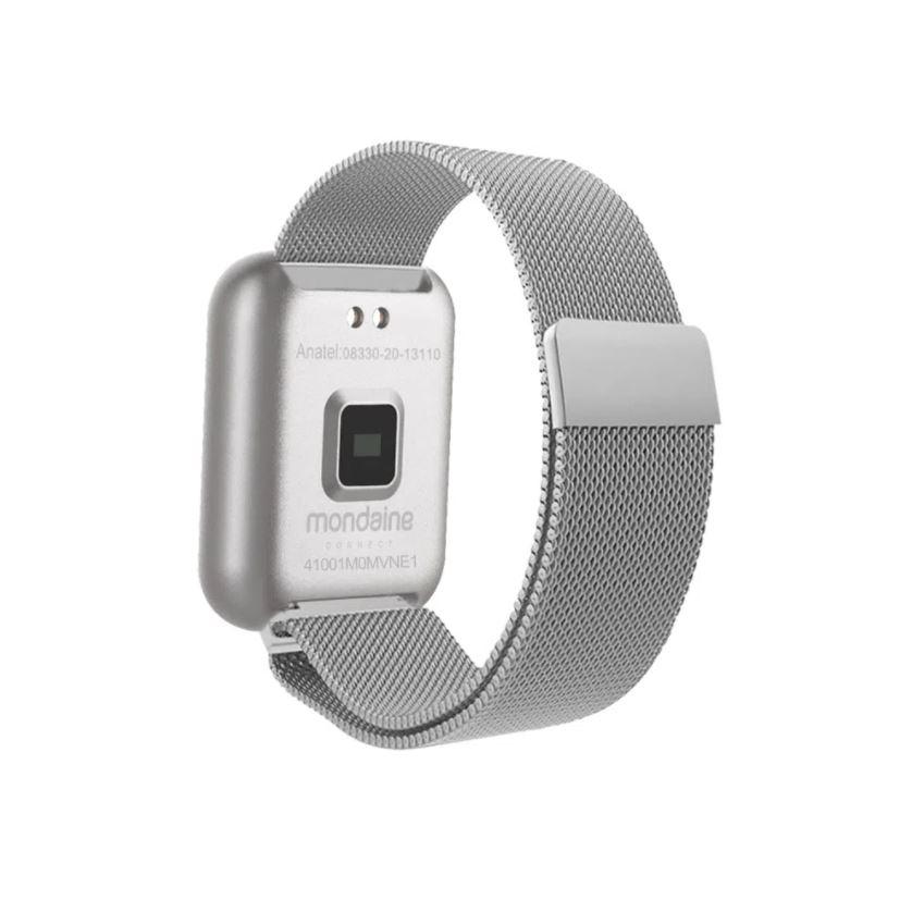 Relógio Unissex Mondaine Digital Prata 41001M0MVNE1