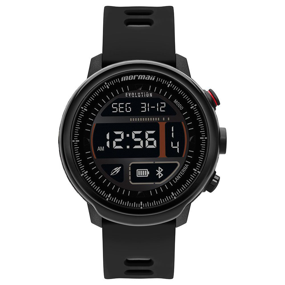 Relógio Unissex Mormaii Evolution Preto MOL5AA/8P