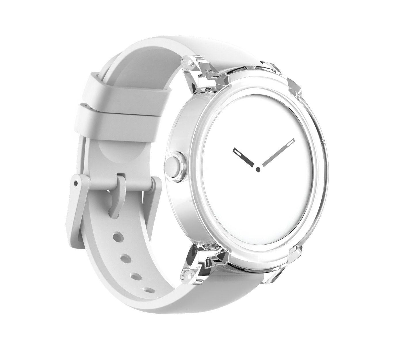 Relógio Unissex TicWatch E Ice Branco TICWATCHE-BXBX