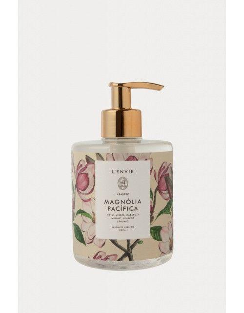 Sabonete Liquido Arabesc Magnolia Pacifica 350ml