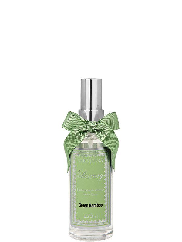 Spray p/ Ambiente Laboterra Luxury Green Bamboo 120ml 935