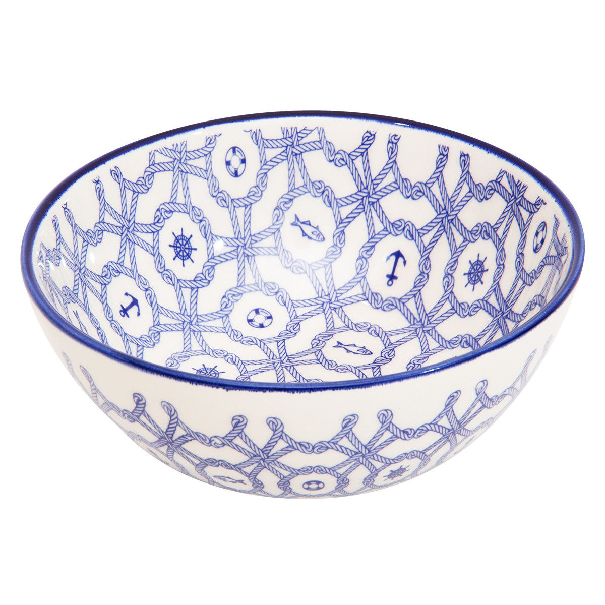 Tigela de Cerâmica Oxford Full Náutico 600ml AB37-6784