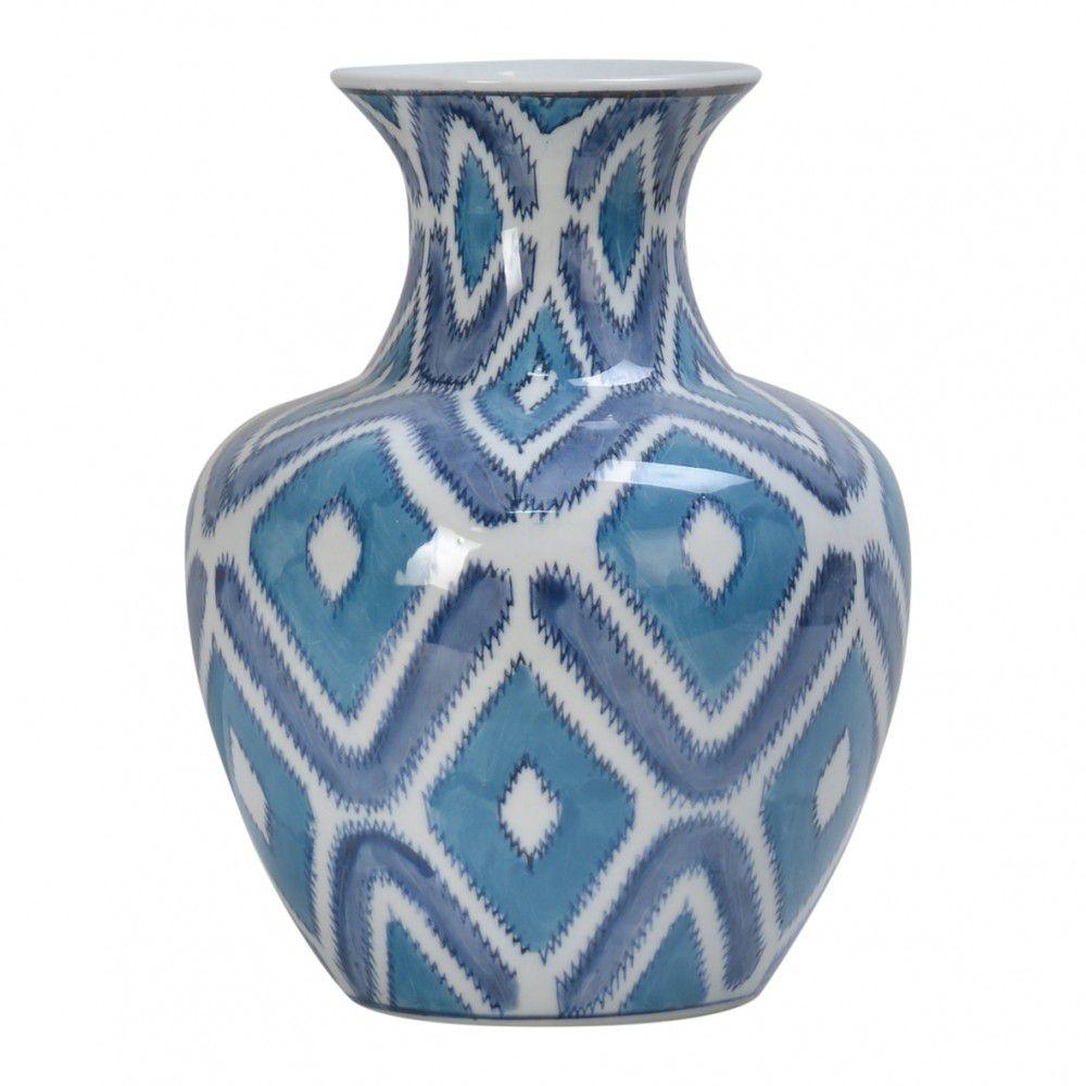 Vaso em Porcelana BTC Geométrico CL0324