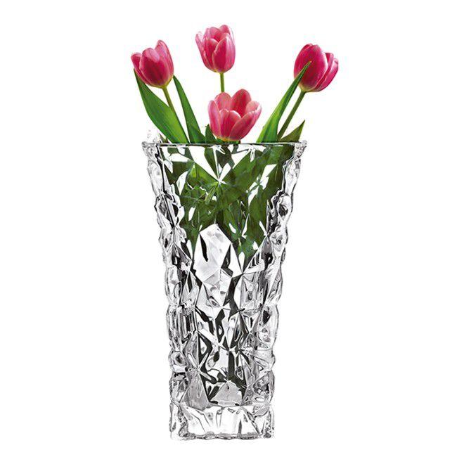 Vaso em Vidro Studio Crystal Ice STC7034