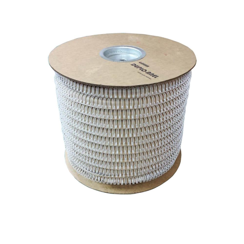 Bobina Wire-o 2x1 Branco 3/4 para 140 fls 8.000 anéis