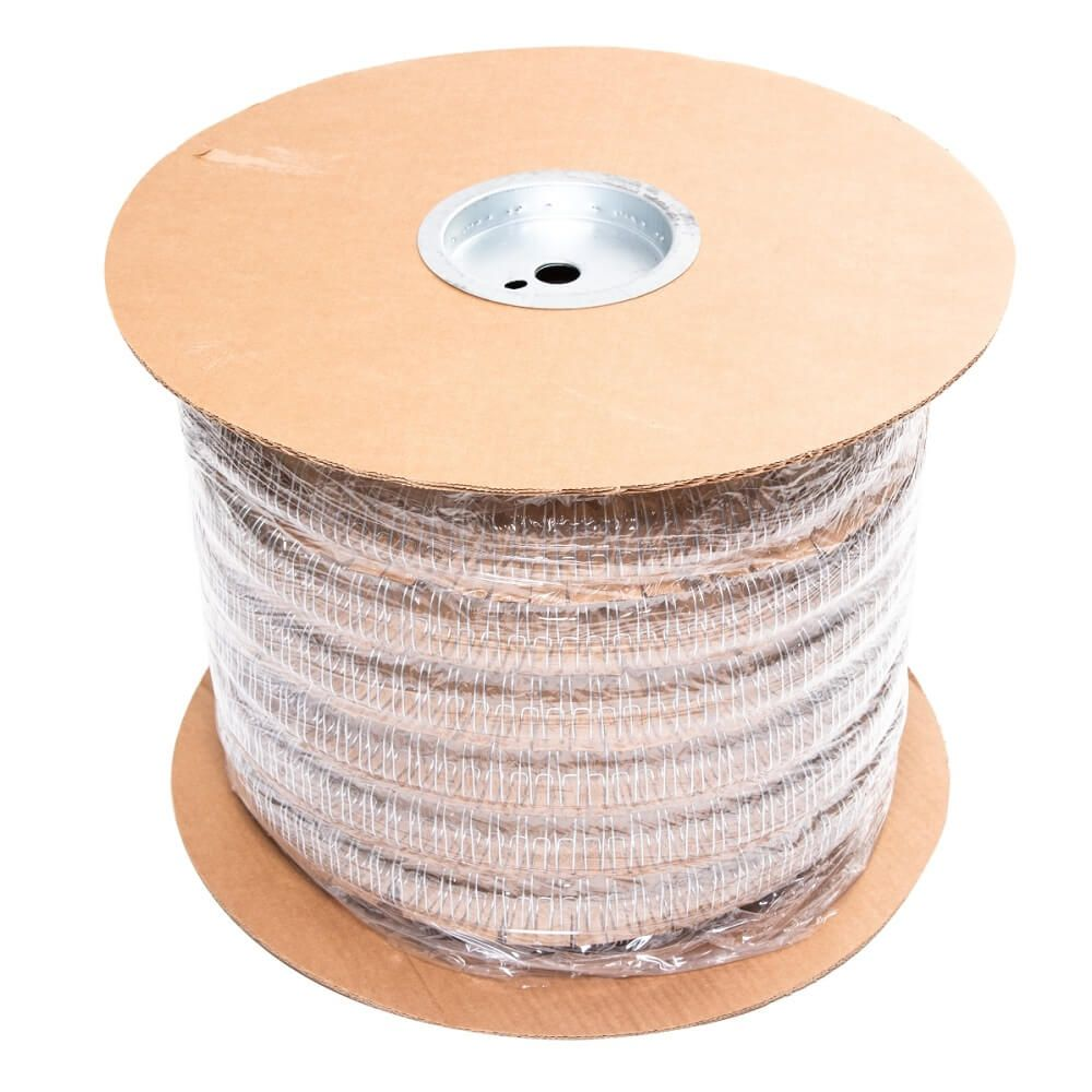 Bobina Wire-o Prata 5/8 2x1 para 120 fls 12.500 anéis