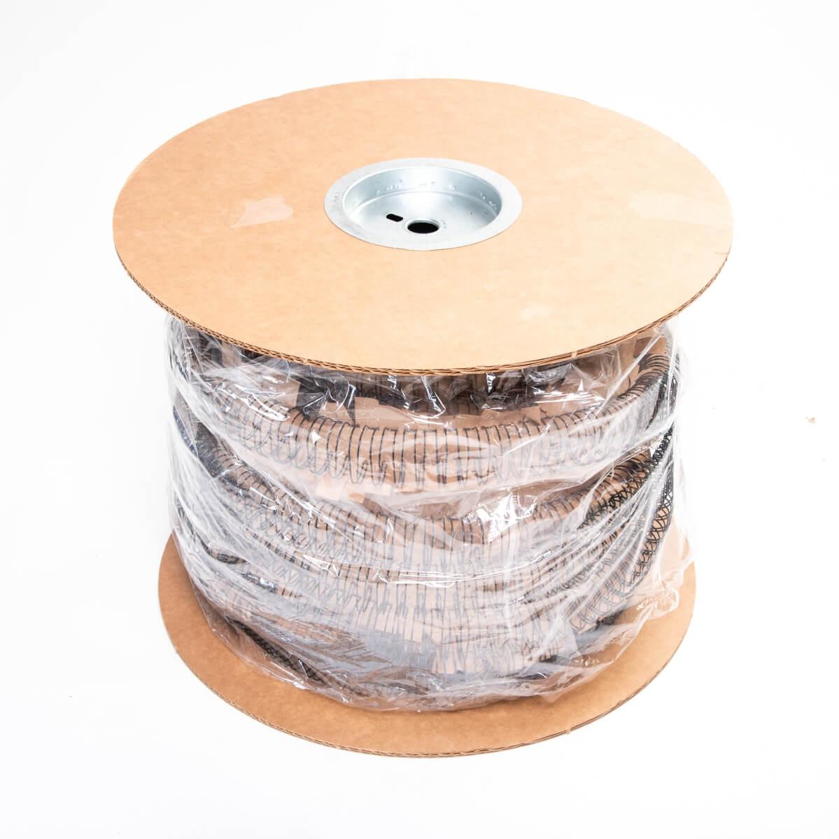 Bobina Wire-o Preto 3/8 3x1 para 60 fls 45.000 anéis