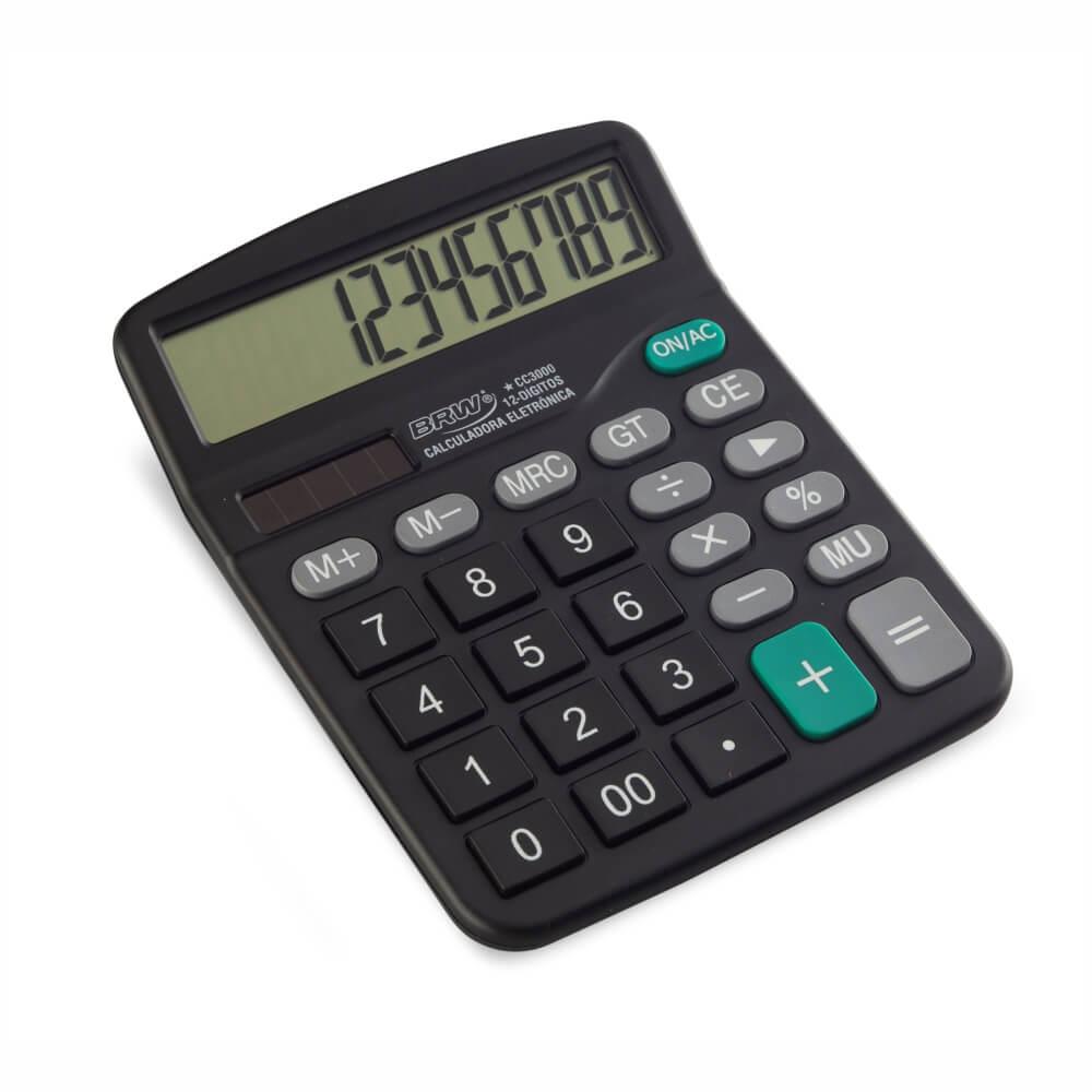 Calculadora de mesa Média 12 Dígitos BRW 01un