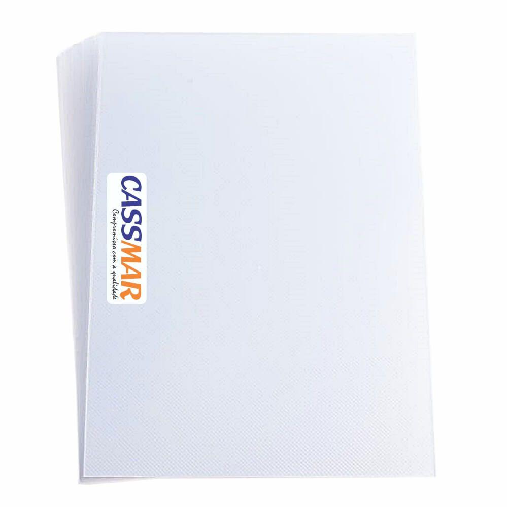 Capa Para Encadernação Super Cristal Line A4 Pp 0,30mm 100un
