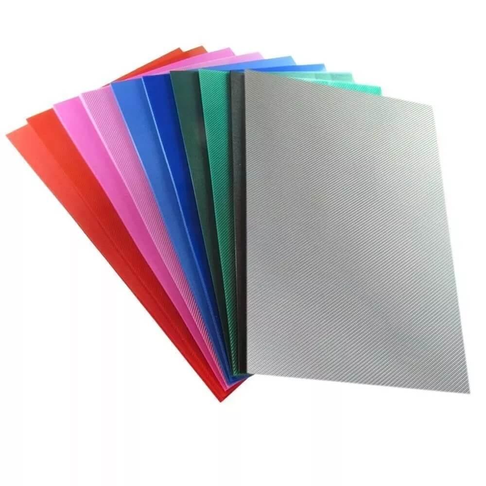 Capa Para Encadernação Coloridas A4 PP 0,30 100un