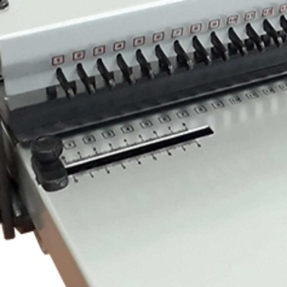Encadernadora de Wire-o Conjugada Duplamatic Passo 2x1