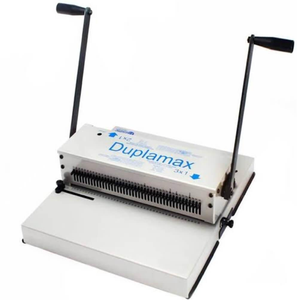 Encadernadora Wire-o Duplamax Passo 2x1 e 3x1