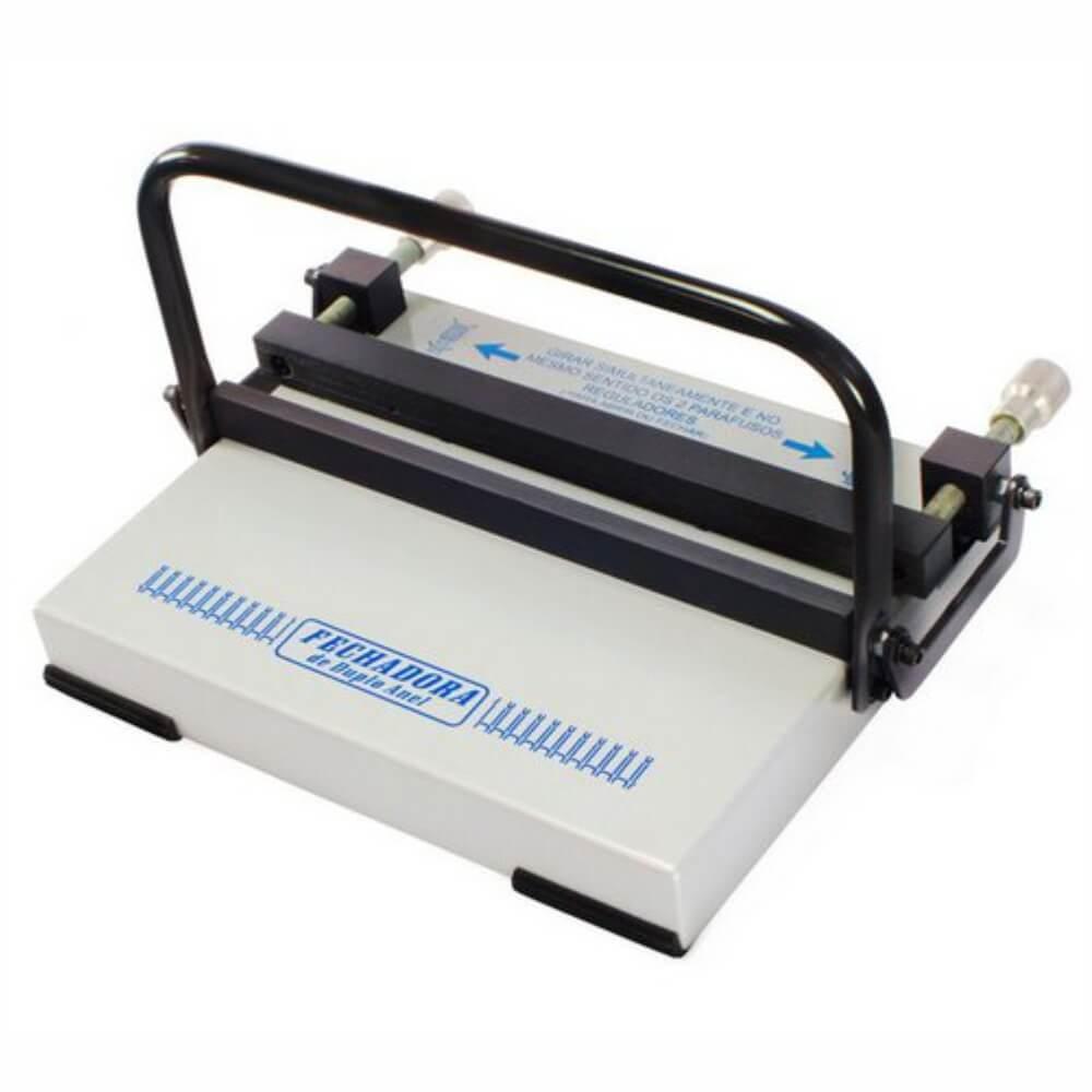 Fechadora de Wire-o manual Passo 2x1 e 3x1 350mm