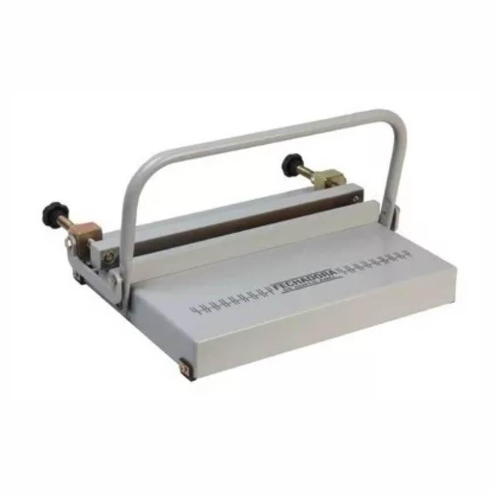 Fechadora de Wire-o Manual Universal Passo 2x1 e 3x1 360mm