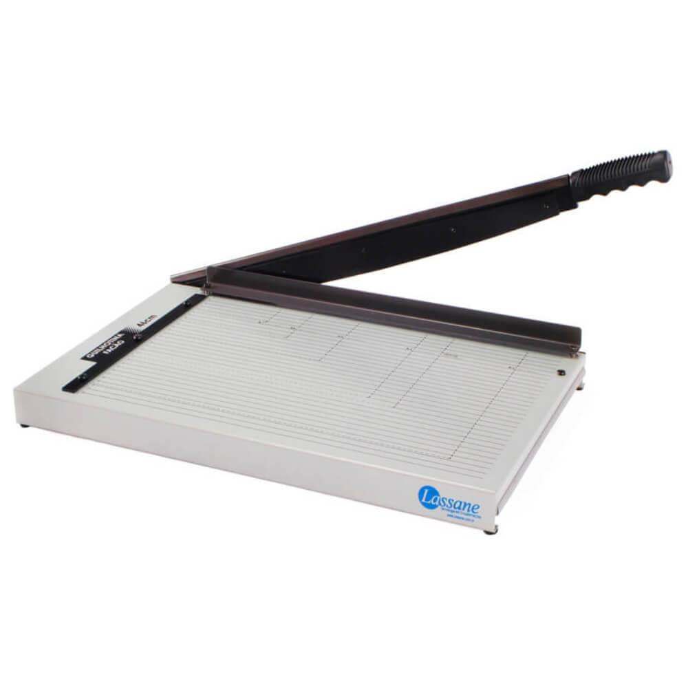 Guilhotina A3 para papel manual 46cm em aço para 15 Folhas