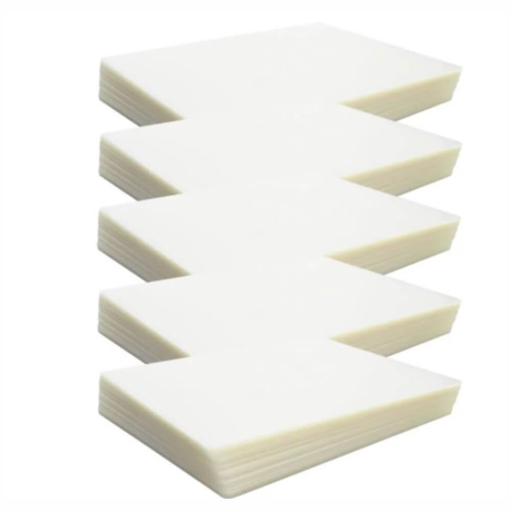 Kit 500 Plásticos Polaseal P/ Plastificação RG,CPF,CRACHÁ 0,05MM