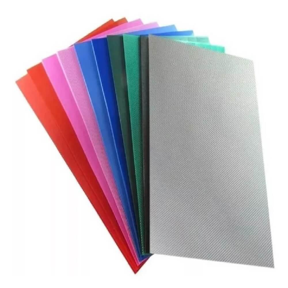 Kit Capa Para Encadernação Coloridas A4 PP 0,30 500un