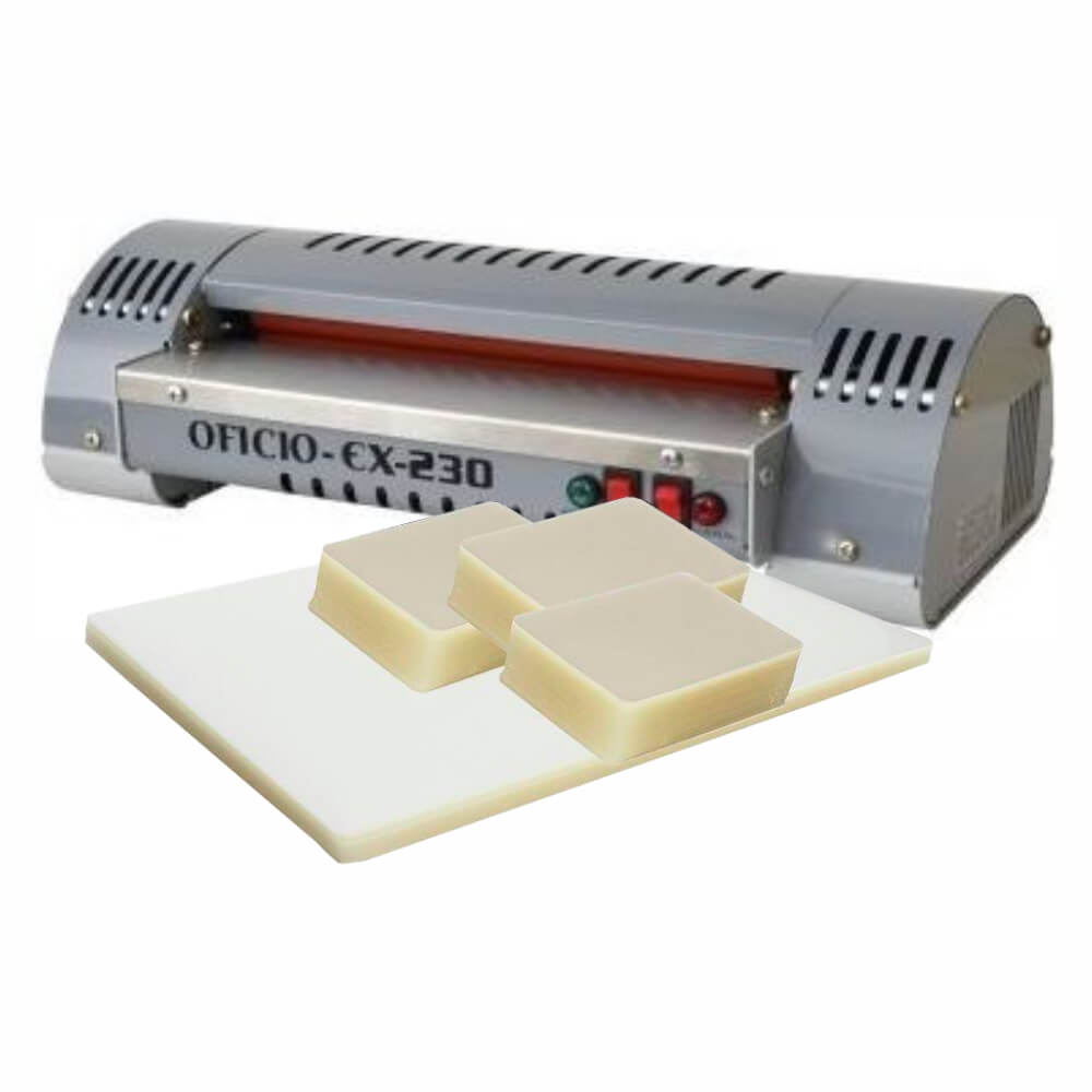Kit Plastificação - Plastificadora Ex 230 + 320 Polaseal 110V
