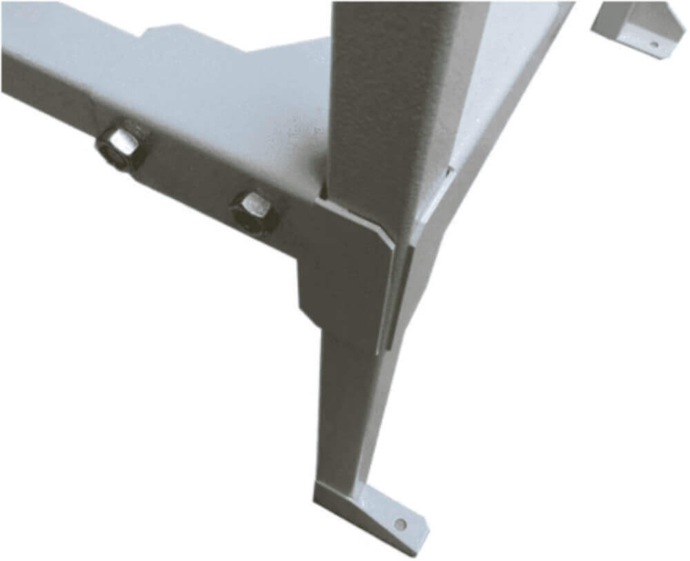 Mesa em Aço para Guilhotina Semi Industrial STD 34cm