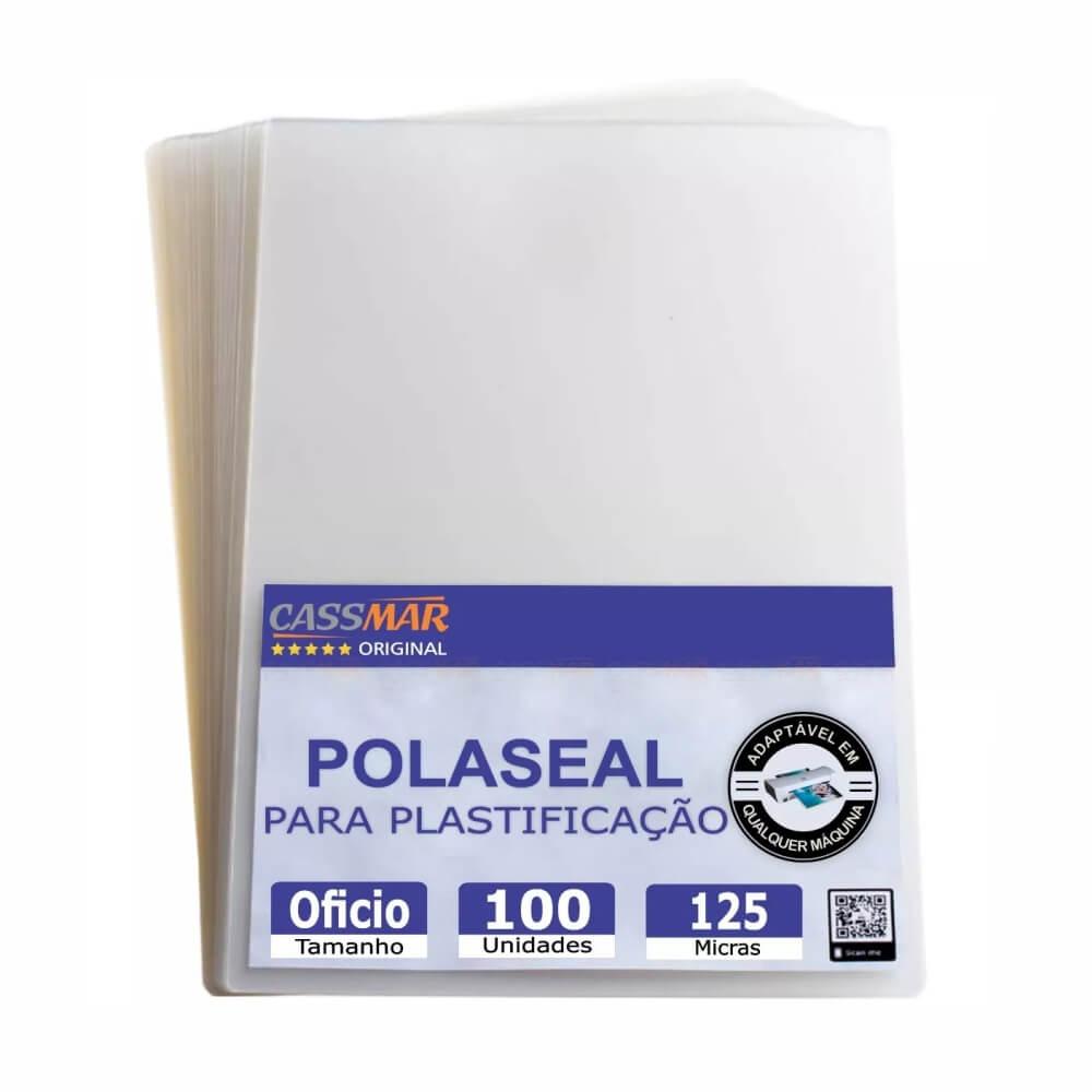Polaseal Para Plastificação Ofício 2 (222X336X0,05MM) 100un