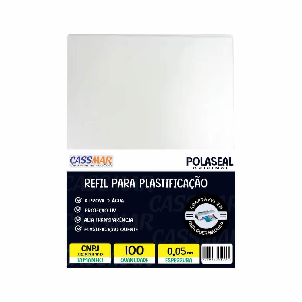 Polaseal Plástico Para Plastificação CNPJ 121X191X0,05