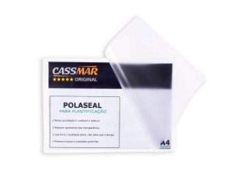 Polaseal Plástico para Plastificação T.Eleitor 66x106x0,05mm 100un