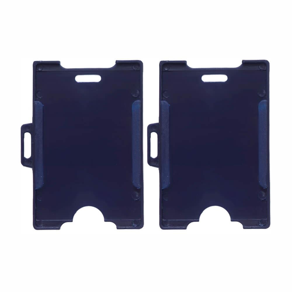 Porta Crachá Azul Marinho Universal Cassmar 100un