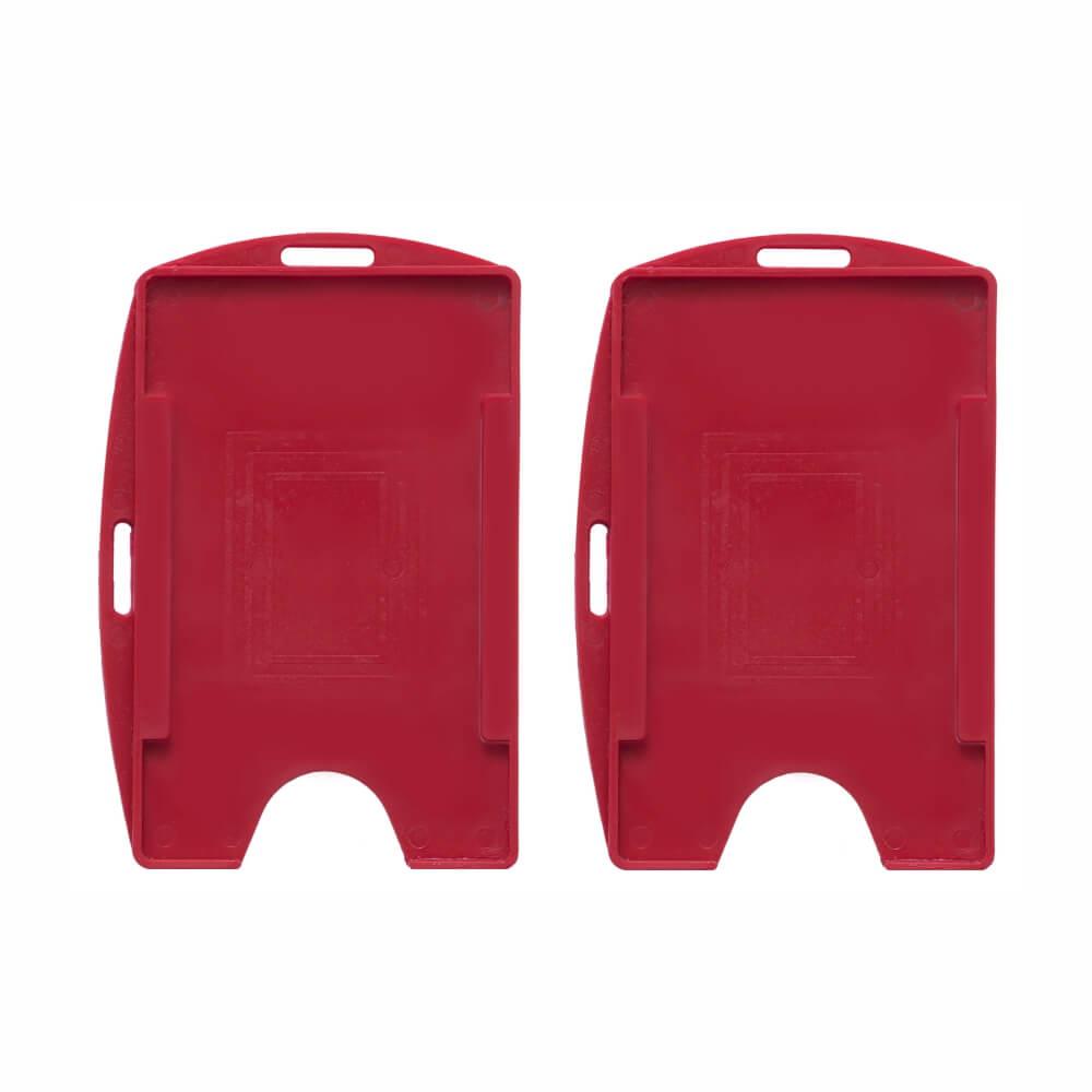 Porta Crachá Vermelho Sólido Universal Cassmar 100un