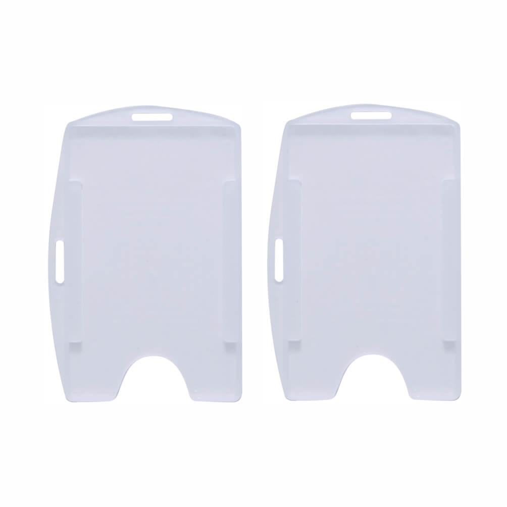 Protetor / Porta Crachá Transparente Universal Cassmar 100un
