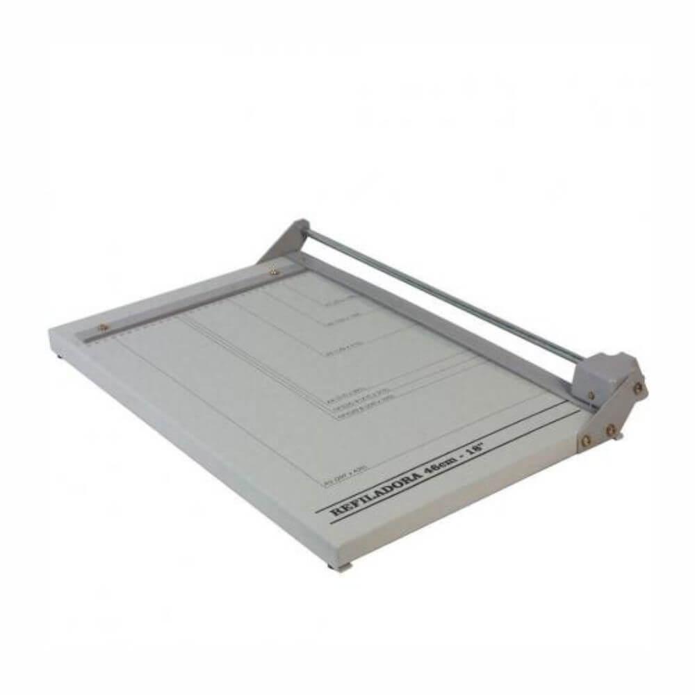 Refiladora de papel A3 46cm totalmente em aço 05 Folhas