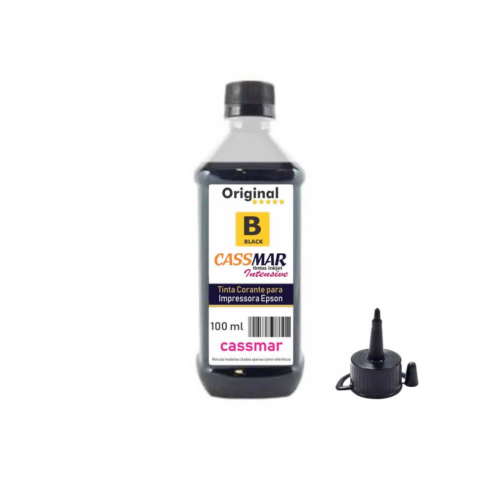Tinta de impressora Compatível Epson L355 L365 L375 L395  Black 100ml