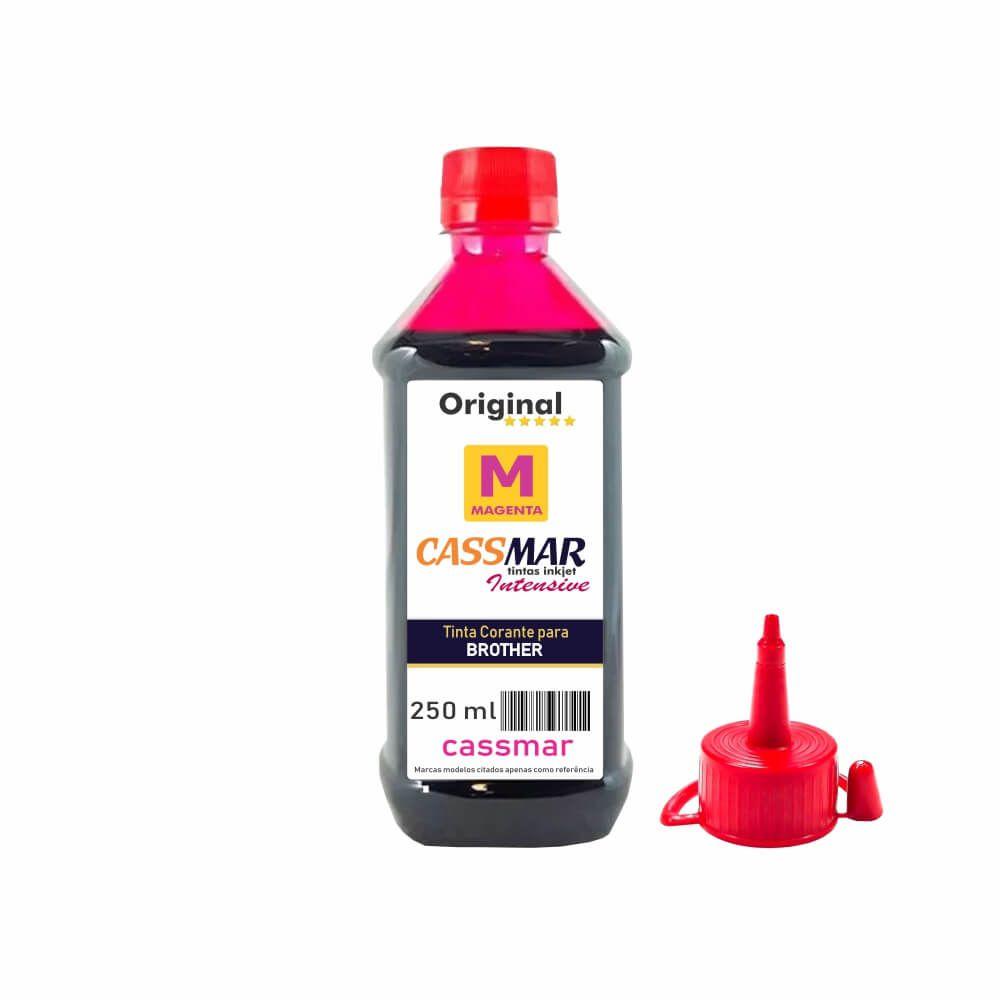 Tinta para Impressora Brother Compatível Magenta Cassmar 250ml