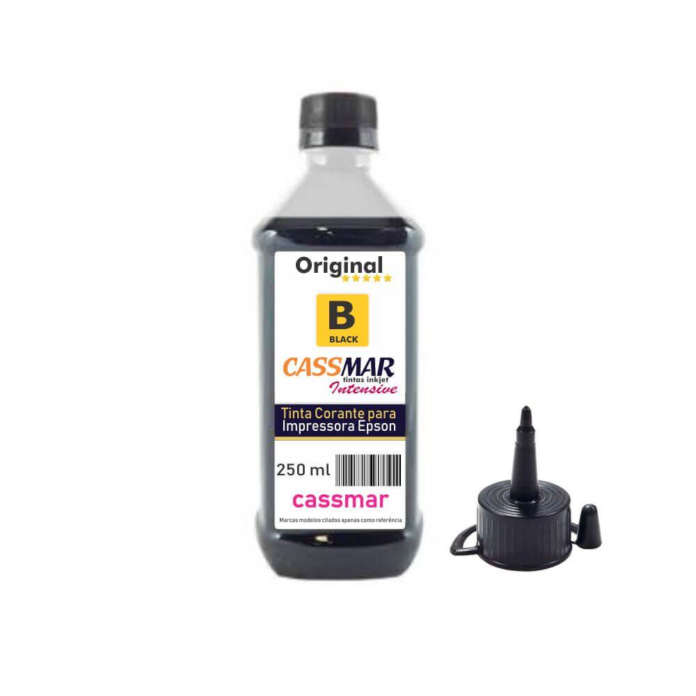 Tinta de impressora Compatível Epson L355 L365 L375 L395 Black Cassmar 250ml