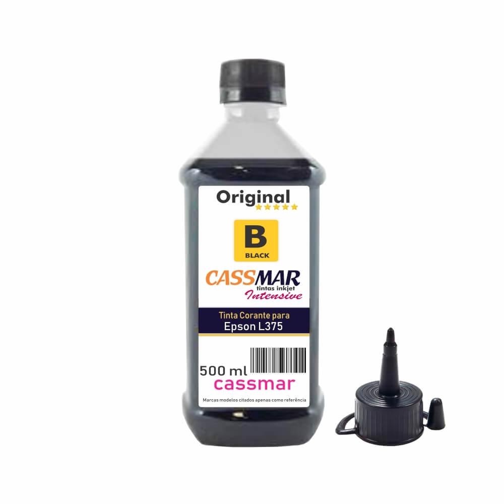 Tinta para Impressora Epson L375 Eco Black Cassmar 500ml